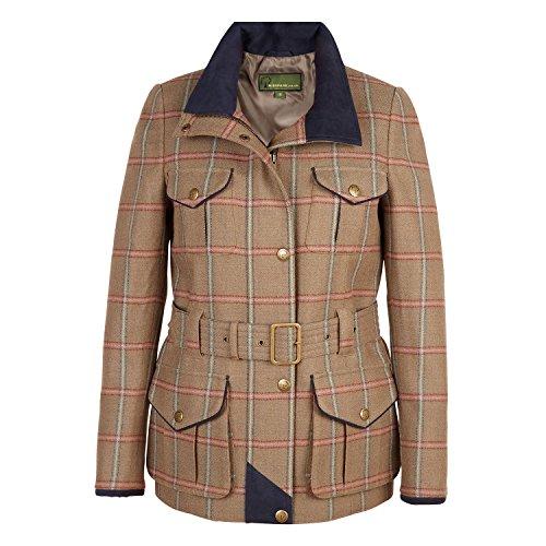 Welby 127: Women's Brown Tweed Coat