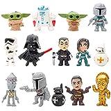 Figurine Star Wars, Hilloly 14 Pièces Mini Figurine Star Wars, Ensemble De Figurines D'action Star Wars, Convient Pour La Décoration De Fête, L'ameublement, Les Cadeaux, La Décoration De Voiture