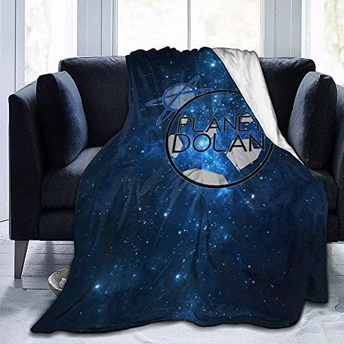 Planet-Dolan Decke Flanell Fleece Throw Queen Size Leichte Gemütliche Couch Bett, 50 'X60'