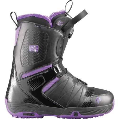 Salomon botas de Snowboard Pearl mujeres negro/blanco 107754-26