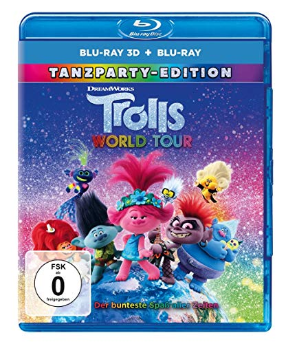 Trolls World Tour (3D): Dance Party Edition / Blu-ray 3D + 2D