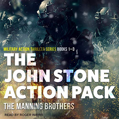 The John Stone Action Pack: Books 1-3  By  cover art