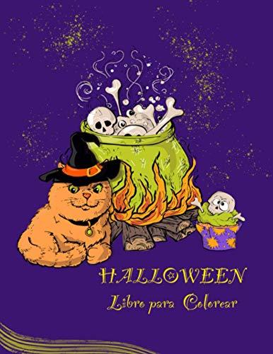 Halloween Libro para Colorear: Una colección de colorear con lindas cosas Spooky miedo