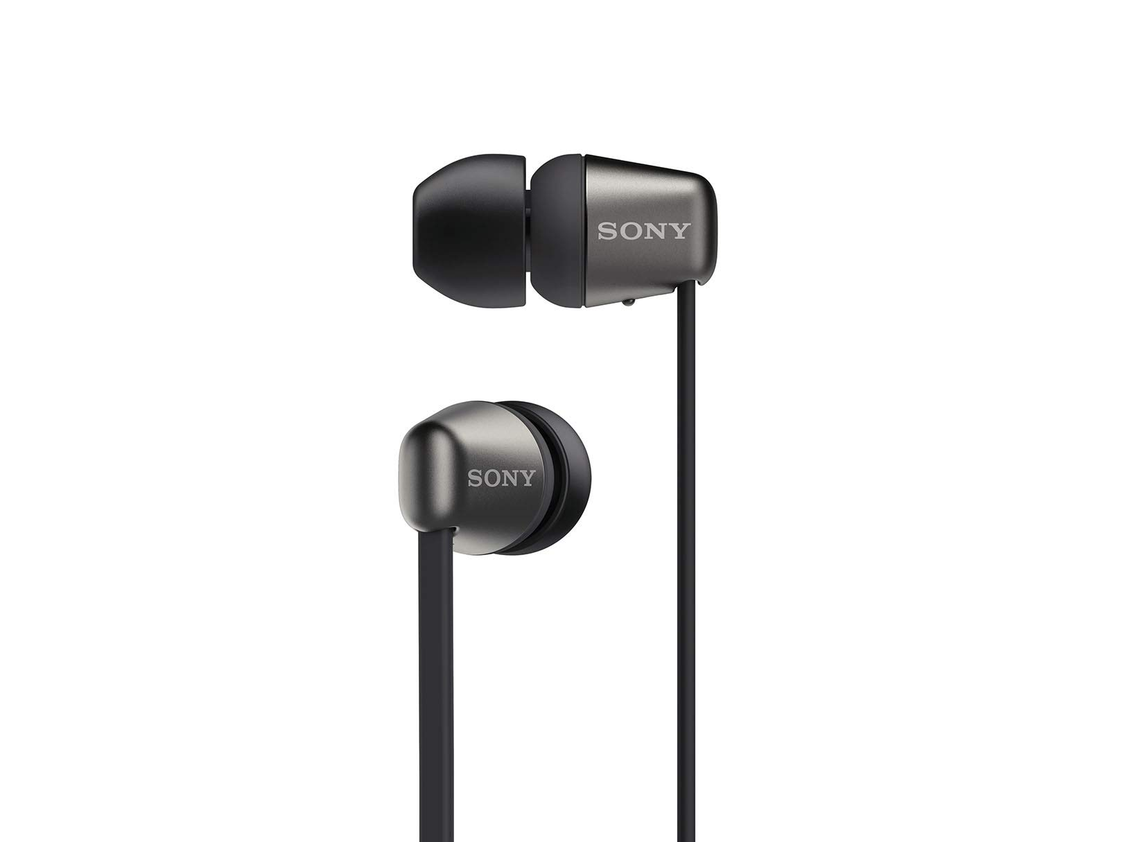 Amazon Com Sony Wireless In Ear Headset Headphones With Mic For Phone Call Black Wi C310 B Electronics