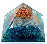 Elite Orgone - Opalite Crystal Orgone pyramid   EMF Protection & Energy Generator   Meditation Yoga   A Solution for Negative Energy & Chakra Healing