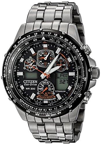 Citizen Men's JY0010-50E Eco-Drive Skyhawk A-T Titanium Watch