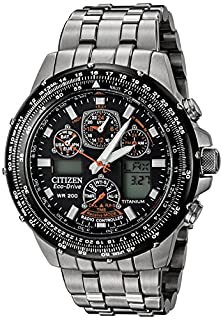 Citizen Men's Eco-Drive Skyhawk A-T Titanium Watch (B0012IR0U2) | Amazon price tracker / tracking, Amazon price history charts, Amazon price watches, Amazon price drop alerts