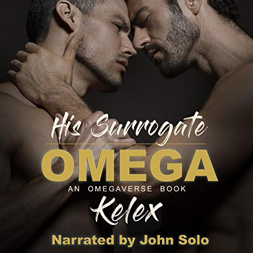 His Surrogate Omega audiobook cover art