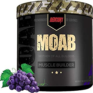 Redcon1 - Moab - Muscle Builder, 30 Servings, Lean Gains, Faster Recovery, HMB, Epicatechin
