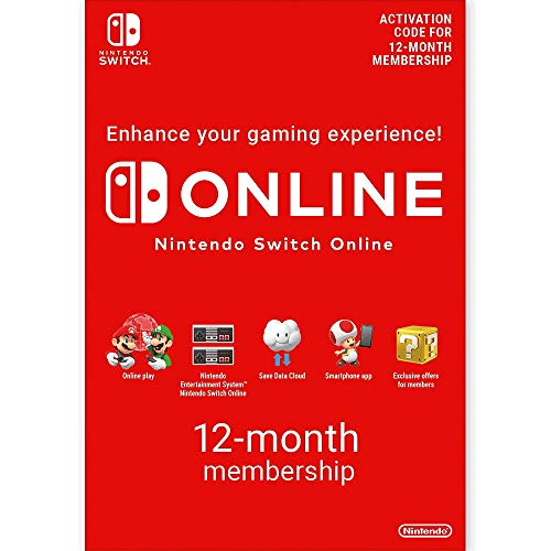 Nintendo Switch Online - 12-Month Family Membership