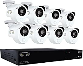 Night Owl Security Integrated Battery Backup 8 Channel 1080p HD Video Security DVR with 2 TB HDD & 8 x 1080p Wired Infrared Cameras