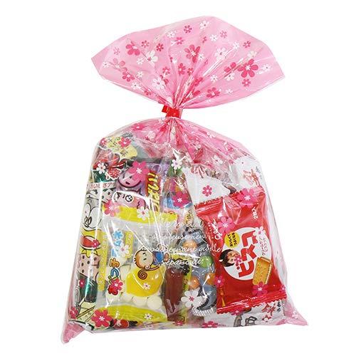 花柄袋 240円 お菓子袋詰め 詰め合わせ(Fセット) 駄菓子 おかしのマーチ