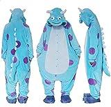 Unmour - Pantalón - para Mujer Azul XL(Altura: 176-186 cm)