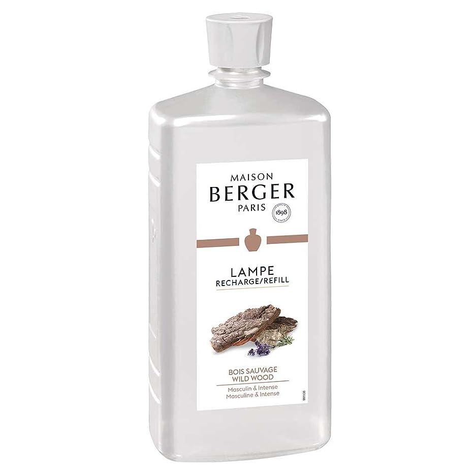 スピーチ極めて重要なストローク◆メゾンベルジェ パリ?パフュームアロマオイル1L ワイルドウッドの香り(パチュリ、ホワイトシダーなどで男らしさを再現したウッディー系)正規輸入品MAISON BERGER PARIS lampe berger paris販売元:Le Nez株式会社(ルネ株式会社)