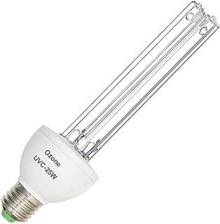 XBOCMY Uv Germicidal Lamp UVC with Ozone Light Bulb 25w E26/E27