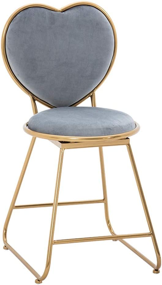 Vanity Stool Chair Makeup Back 新色追加して再販 with He NEW ARRIVAL