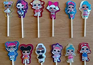 LOL cupcake toppers set of 12