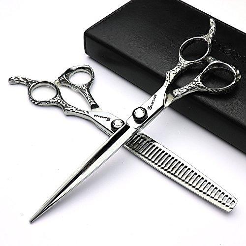 Herramienta de peinado de 7 pulgadas y tijeras de corte de pelo para peluquero para cabello (2pcs)