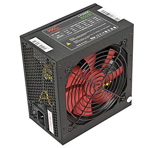 HKC® V-Power 650W ATX PC Netzteil PFC Silent