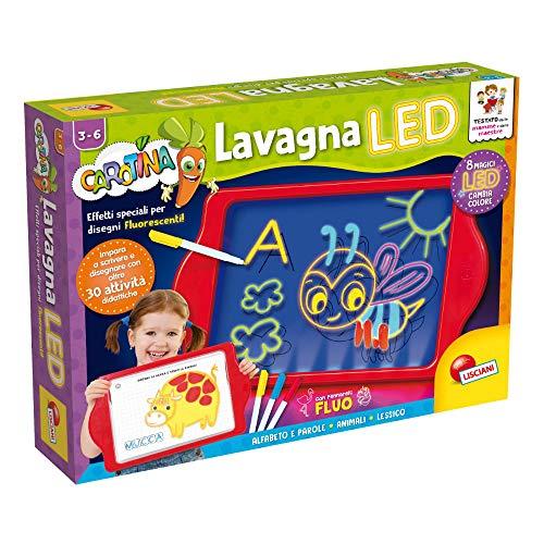 Lisciani Giochi - 77441 Gioco per Bambini Carotina Lavagna LED 2019