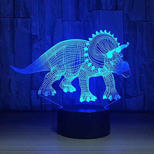 Yxsd 3D-nachtlampje uit Tocco kleur 7 welke met USB LED Night Light Home Decor cadeau voor kinderen