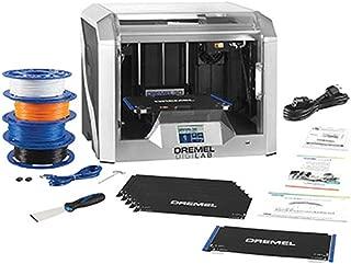 Dremel 3D40 Flex EDU 3D Printer and Education Accessories (Lesson Plans, Professional Development Course, Flexible Build Plate, Build Tape, Filament)
