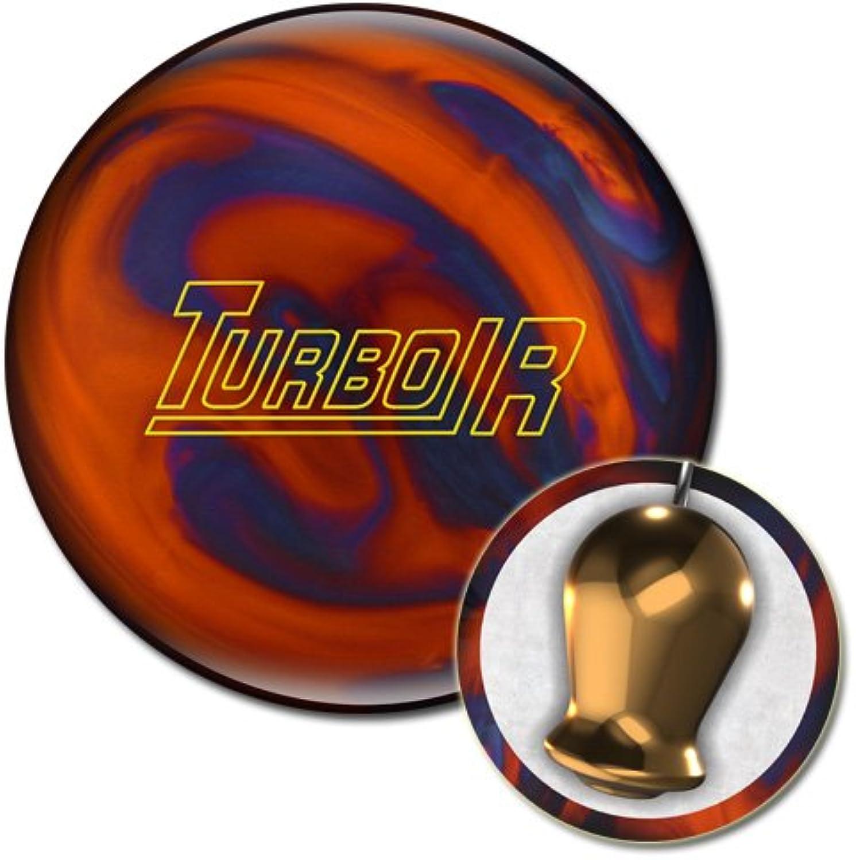 Ebonite Turbo R Bowling Ball orange blueee Pearl 12 lb
