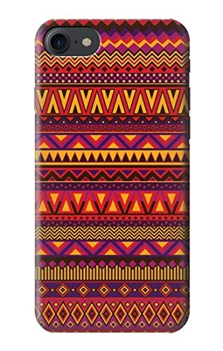 Innovedesire Aztecs Pattern Case Cover Custodia per iPhone 7, iPhone 8, iPhone SE (2020)