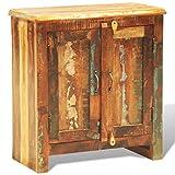 vidaXL Anrichte Kommode Schrank mit 2 Türen Recyceltes Massivholz Vintage