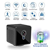 Jayol Mini Spy Hidden Camera, 1080P Spy Camera Wireless Hidden WiFi Upgraded Night