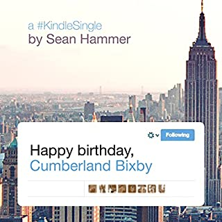 Happy Birthday, Cumberland Bixby cover art