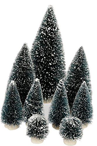 Christmas Gifts 99389 - Set di 9 Alberi di Natale, Multicolore