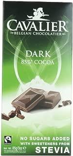 Cavalier - Belgian Dark 85% Cocoa Chocolate Bar - 85g (Case of 14)