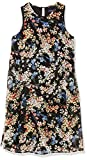 Tommy Hilfiger Women's Trapeze Dress, Black/Blue/Coral, 16