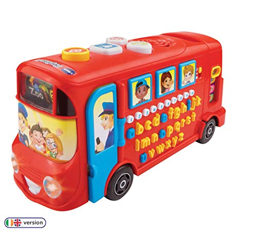 Vtech 150003 Playtime Bus Educational Playset, Learning Toy With Phonic Sounds, Letters, Vocabulary,...