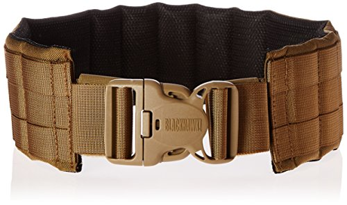 BLACKHAWK Padded Patrol Belt and Pad - Coyote Tan, Large