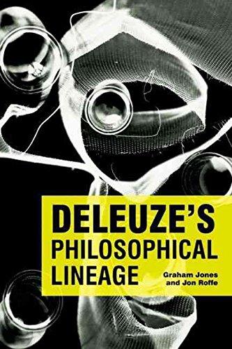 [Deleuze's Philosophical Lineage] (By: Dr. Graham Jones) [published: April, 2009]