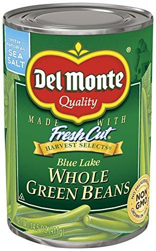 Del Monte Foods Whole Grn Beans, 14.5 oz