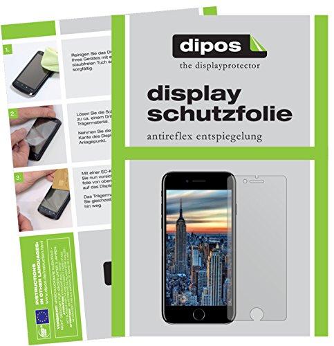 dipos I 6X Schutzfolie matt kompatibel mit Apple iPhone 8 Folie Displayschutzfolie