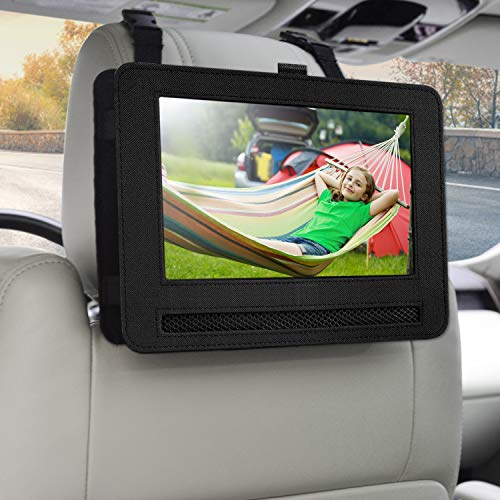 Save %46 Now! Car Headrest Mount Holder for 7.5 Portable DVD Player with Swivel and Flip Screen and...
