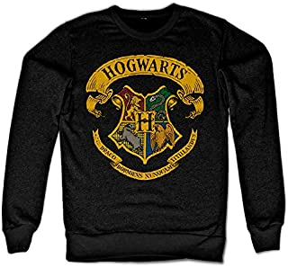 Officially Licensed Inked Harry Potter - Hogwarts Crest Sweatshirt (Black)