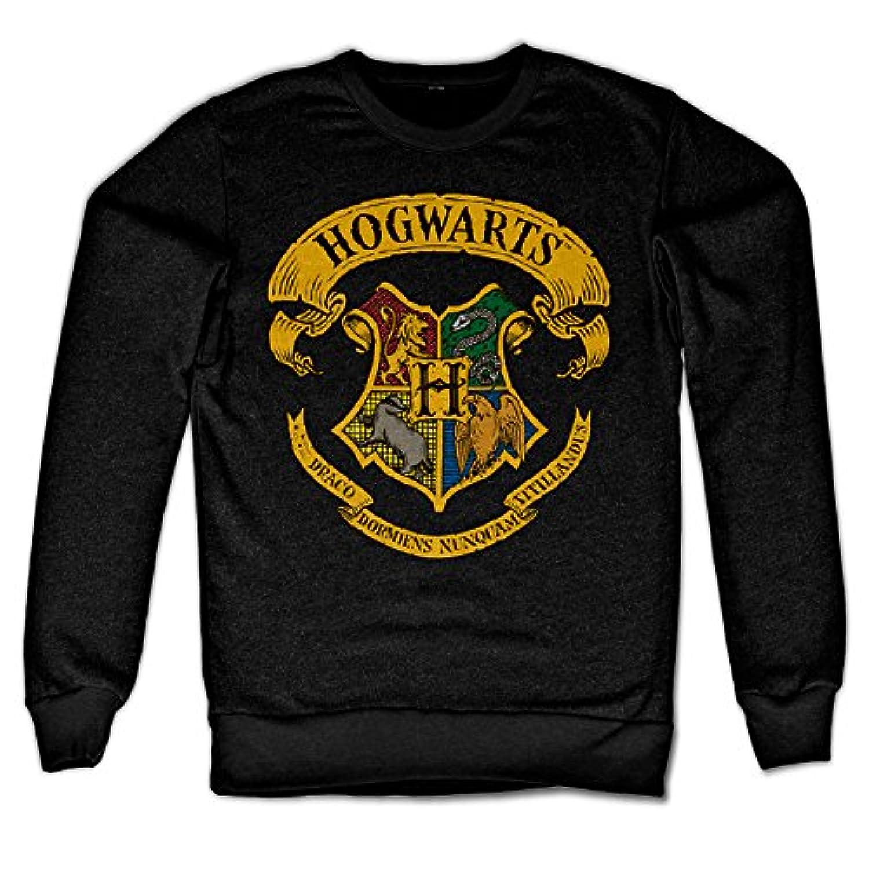 Officially Licensed Inked Harry Potter - Hogwarts Crest Sweatshirt (Black)