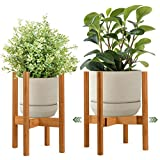 Goodjob Bamboo Plant Stands for...