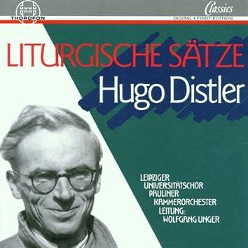 Distler: Liturgische Sätze