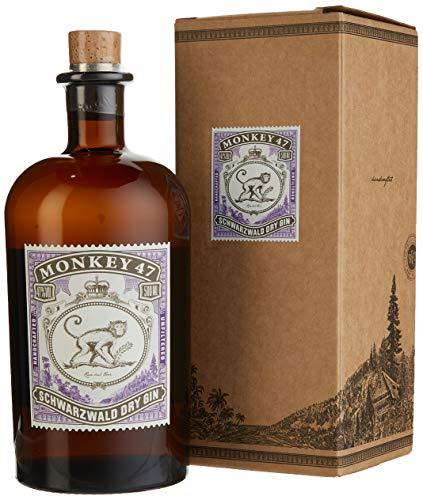 Monkey 47 schwarzwald Dry Gin mit Geschenkverpackung (1 x 0.5 l)