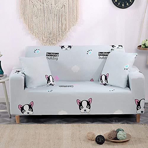 Funda elástica para sillones Fundas de sofá elásticas de 3 plazas, Fundas de sofá elásticas para Sala de Estar, Funda de sofá, Silla, decoración del hogar, 190-230cm