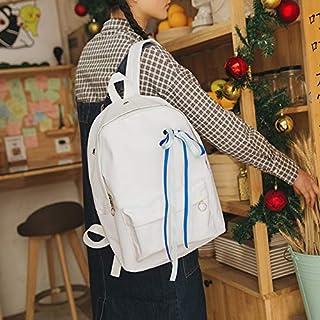 Fsweeth Schultasche Schultasche Schultasche kreative Exquisite Oxford Tuch Ribbon Rucksack Student Schultertasche, 29  40  11 cm, Weiss B07L4RS71W  Won hoch geschätzt und weithin Grünraut im in- und Ausland Grünraut 90dcf6