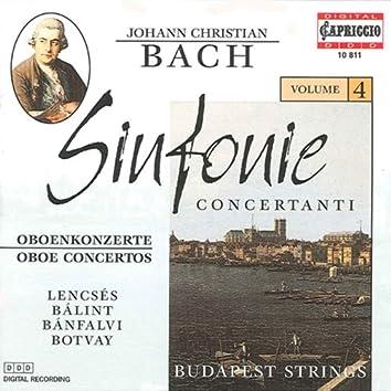 Bach, J.C.: Sinfonie Concertanti, Vol. 4