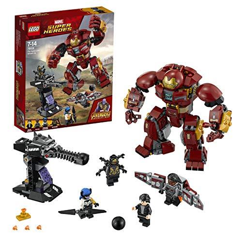 Lego Marvel Super Heroes - Avengers - Le Combat de Hulkbuster - 76104...