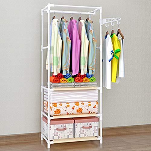 XYBB Armario Dormitorio Trastero Dormitorio De Pie Creativo Multifuncional Multifuncional Moderno Moderno Simple 176 * 60 * 35cm Blanco